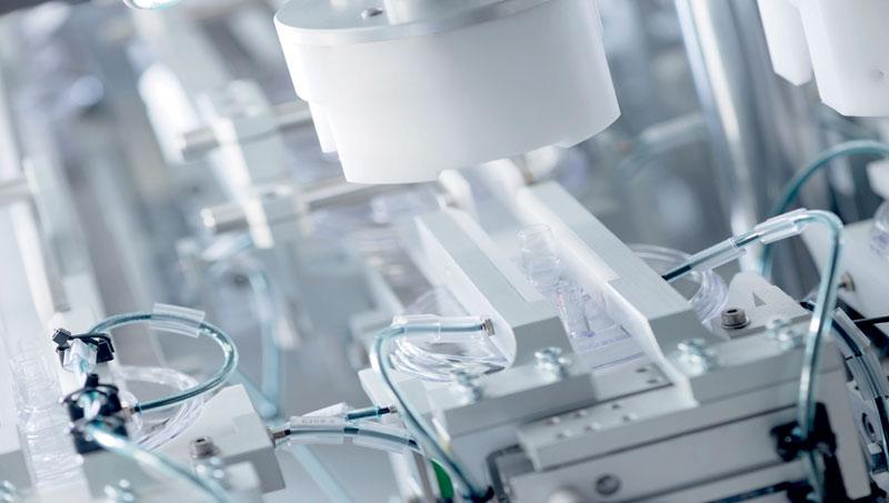 La dose unitaria riduce gli errori grazie alla precisa tracciabilità del farmaco.