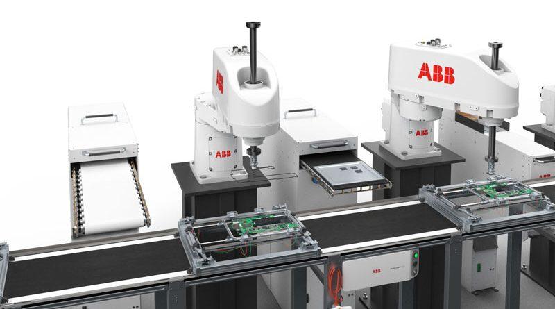 ABB lancia il suo nuovo robot SCARA IRB 920T per assemblaggi ad alta precisione.