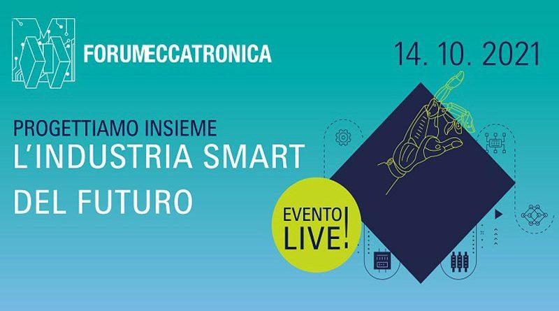 Il 14 ottobre 2021 si terrà a Parma l'ottava edizione del Forum Meccatronica.