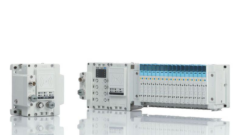 Il sistema EX600-W di SMC consente la riduzione dei cavi e dei connettori.