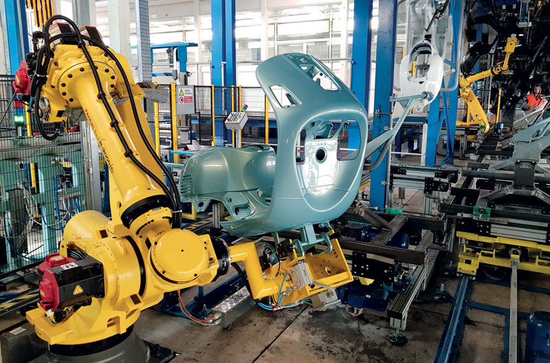 TMP Engineering customises the machine architecture to the customer's needs.
