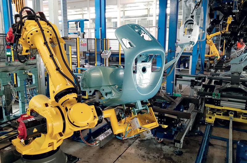 TMP Engineering personalizza l'architettura della macchina sulle esigenze del cliente.