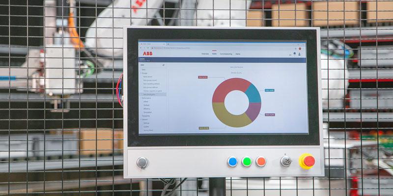 Il software di FlexBuffer si interfaccia con i sistemi WMS, ERP e AMS.