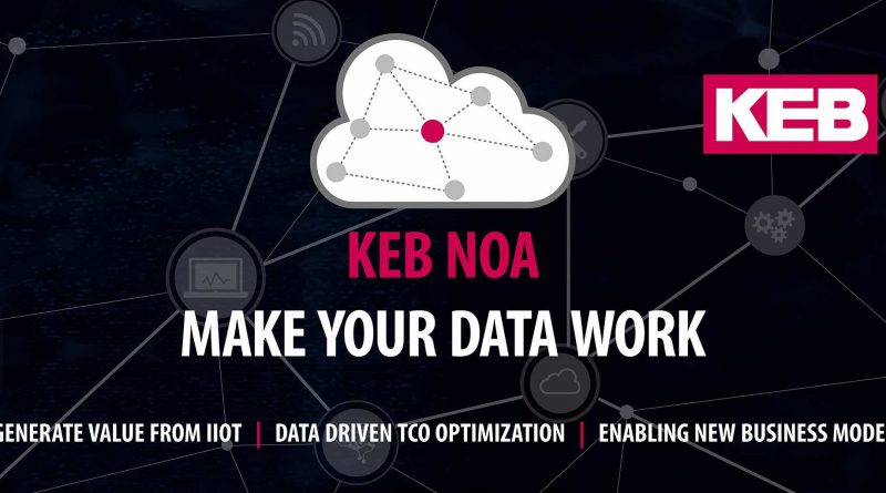 KEB Automation presenta il suo ecosistema digitale scalabile per IIoT KEB NOA.