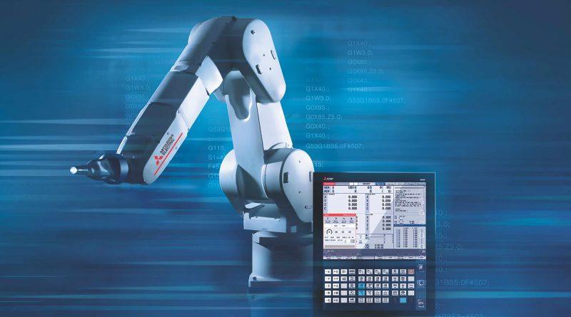 Mitsubishi Electric affronta il tema di digitalizzazione e integrazione tra robotica e CNC.