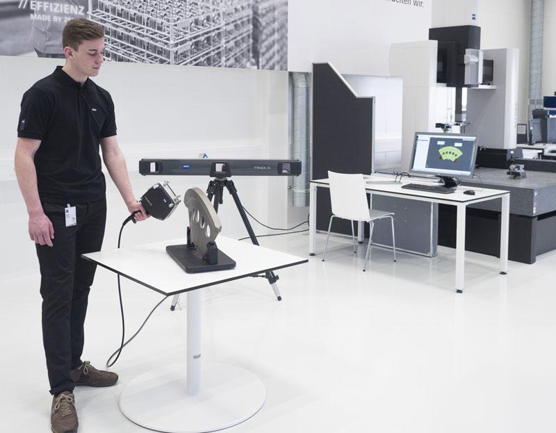Il sistema di scansione laser TScan di Zeiss.