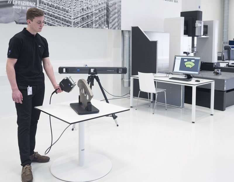 The Zeiss TScan laser scanning system.