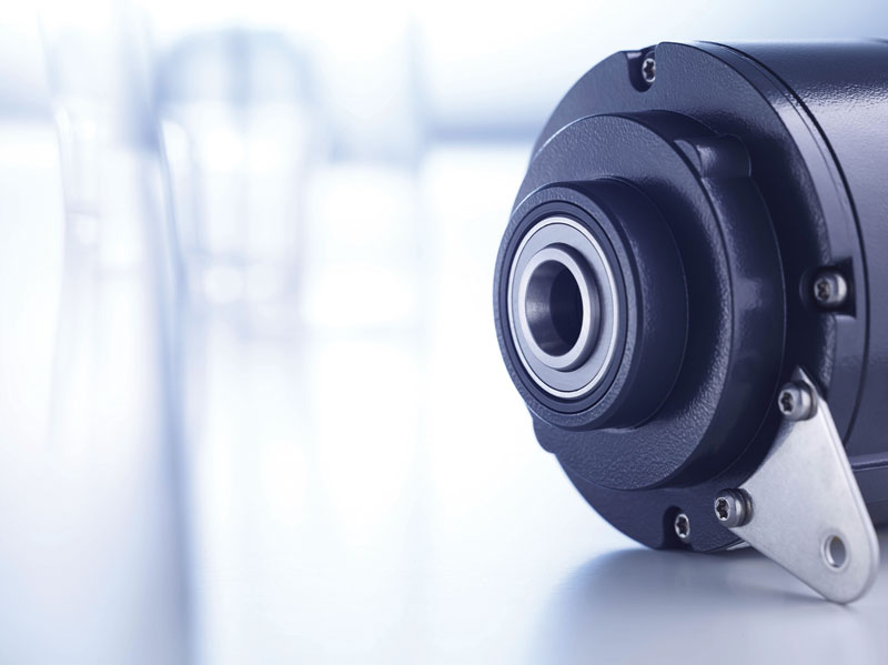 Hübner Berlin HeavyDuty encoders in  the HOG 10  and POG 10 series.