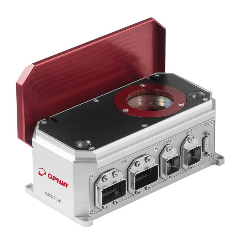 Helios misura la potenza dei laser industriali fino a 12 kW.