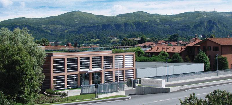 La sede di Vuototecnica a Beverate di Brivio (LC).