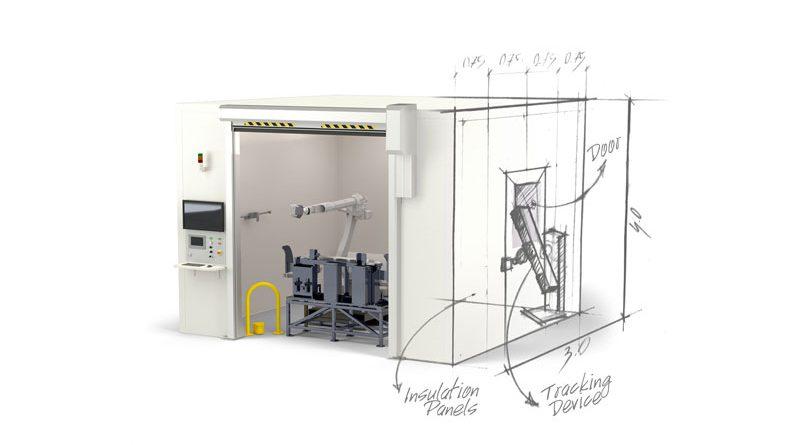 QBOX è la sua gamma di celle di misura robotizzate adatte a ogni tipo di esigenza e layout