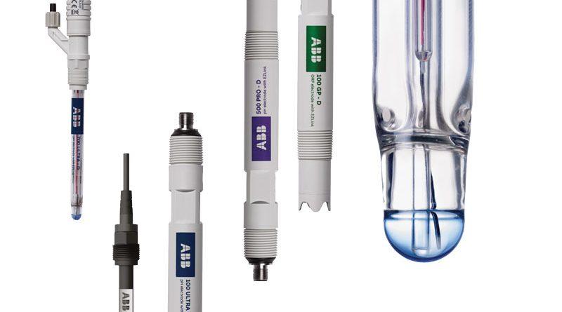 La gamma di sensori pH e ORP di ABB.