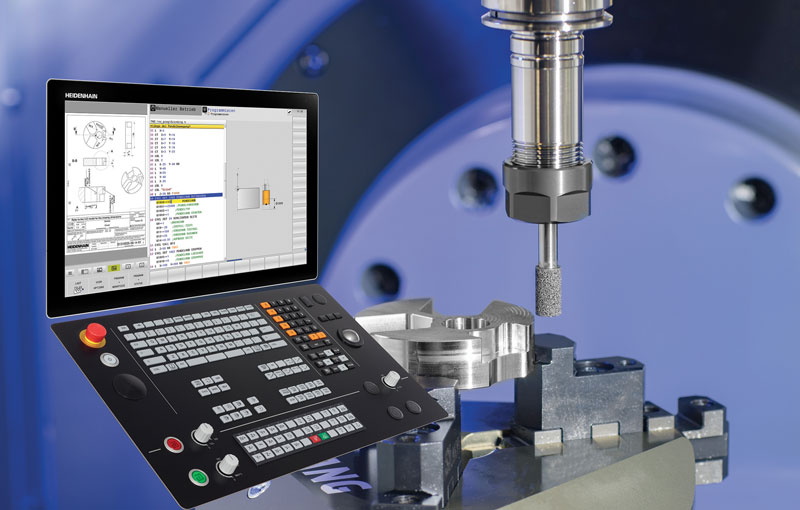 The TNC 640 control with new grinding functions.