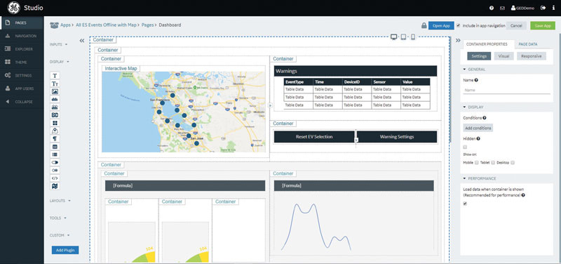 Proficy Operations Hub crea un centro operativo digitale facilmente accessibile.