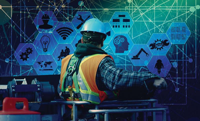 Nelle fabbriche l'AI supporta  la manutenzione predittiva delle apparecchiature.