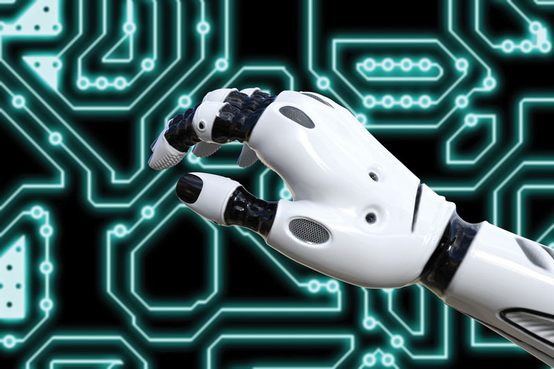 I cobot possono essere istruiti dagli operatori e lavorano con loro.