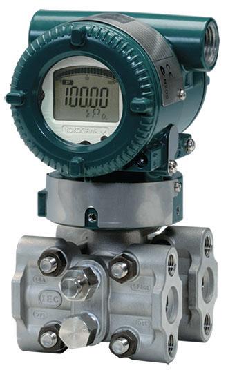 The Yokogawa EJX pressure transmitter.