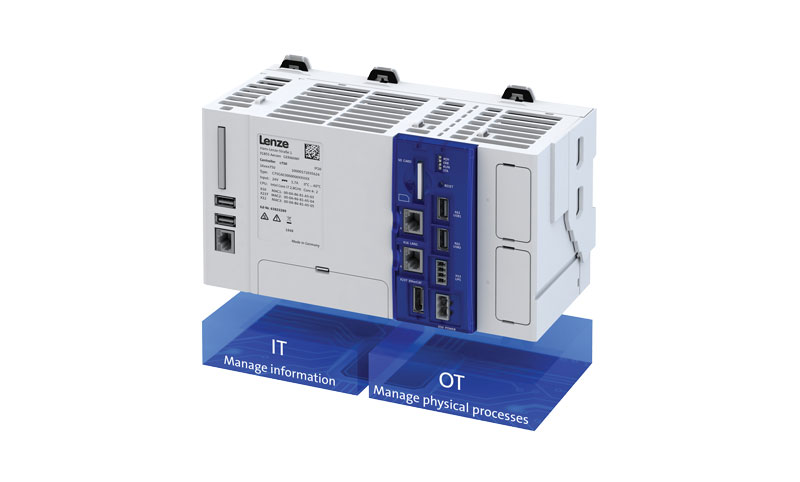 The c750 cabinet controller equipped with data-based evaluation.