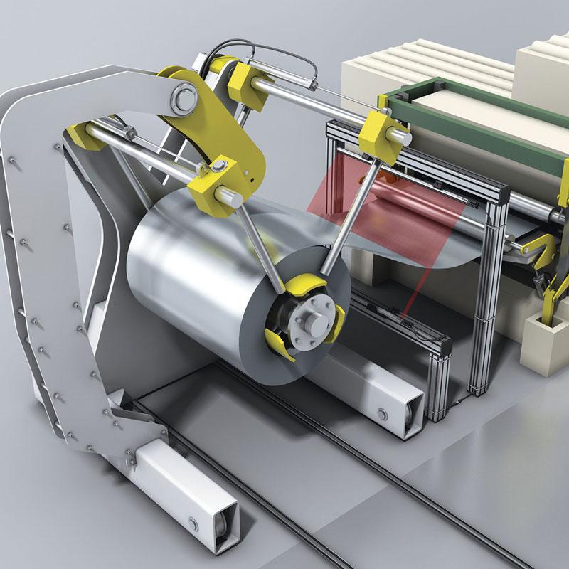 Sistemi di supporto adeguati facilitano il fissaggio della barriera fotoelettrica.