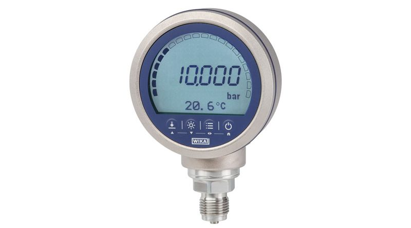 Il manometro digitale CPG1500 di Wika.