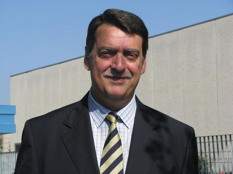 The new  G.I.S.I. Chairman,  Roberto Gusulfino of Endress+Hauser Italia.