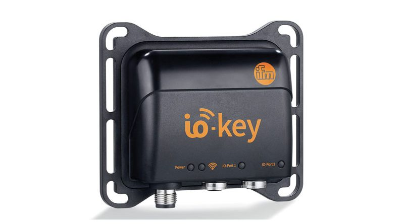 io-key, il gateway di ifm.
