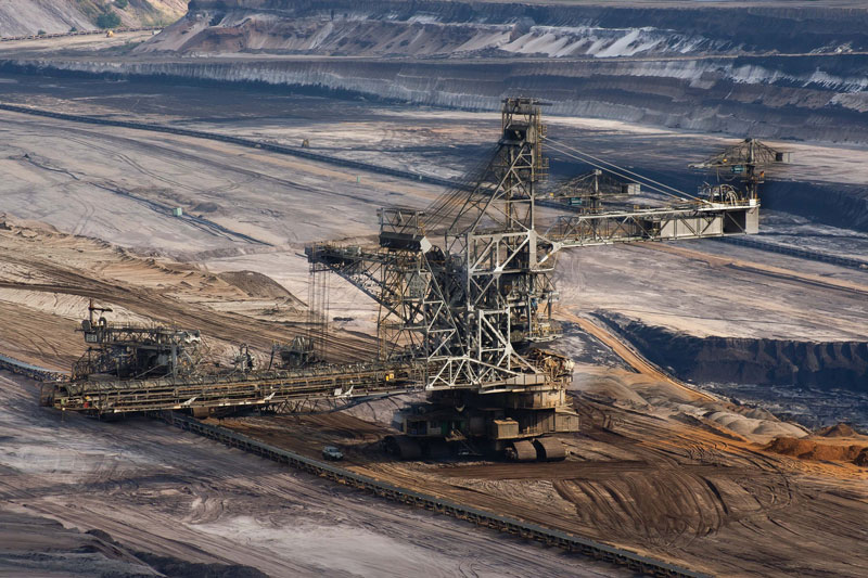 Thanks to data analysis, the mining industry  can assess the quality of the final output.