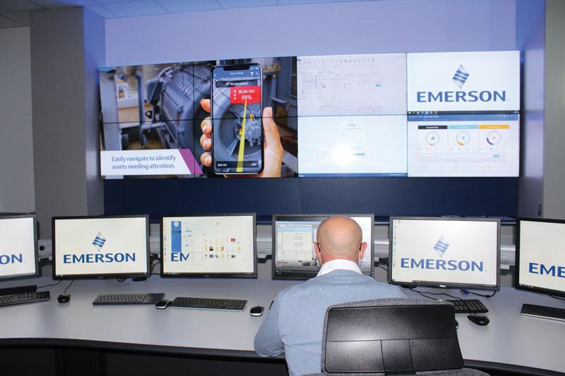Emerson conta su elevate competenze soprattutto per apparecchiature molto specifiche.