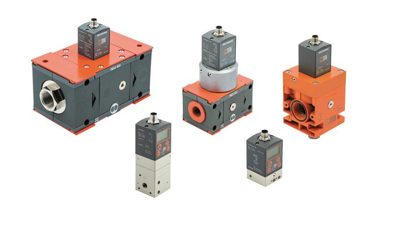 Electronic pressure regulators Series Regtronic