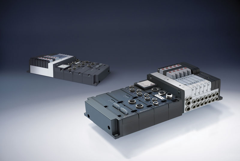 The Series D appears as an evolution of the pneumatic components towards the system side.