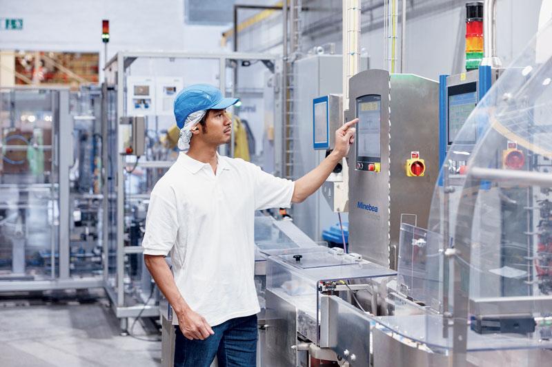 La cella di carico WZED è certificata per velocità nastro fino a 3 m/s.