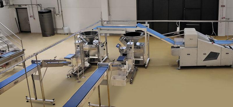 L'esigenza di Turri era quella di automatizzare i cilindri di laminazione.