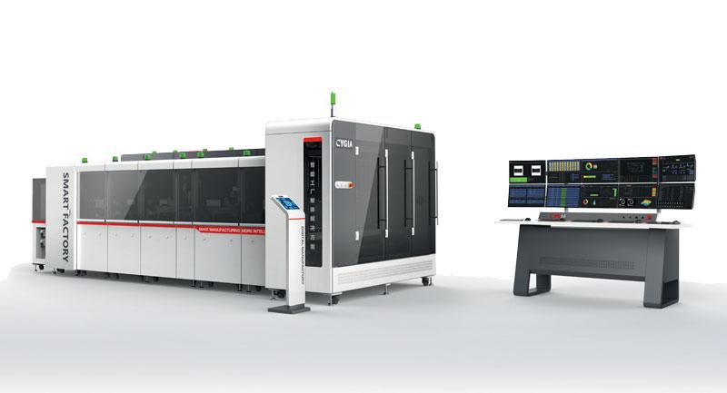 La soluzione di fabbrica intelligente di CYGIA per la produzione elettronica.