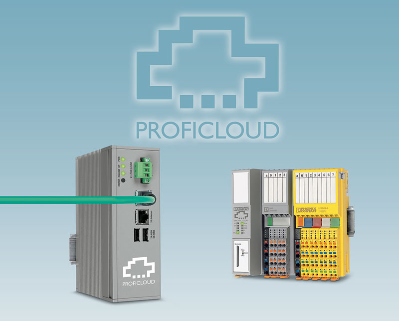The system operator can access the safety system data in real time via the Proficloud.