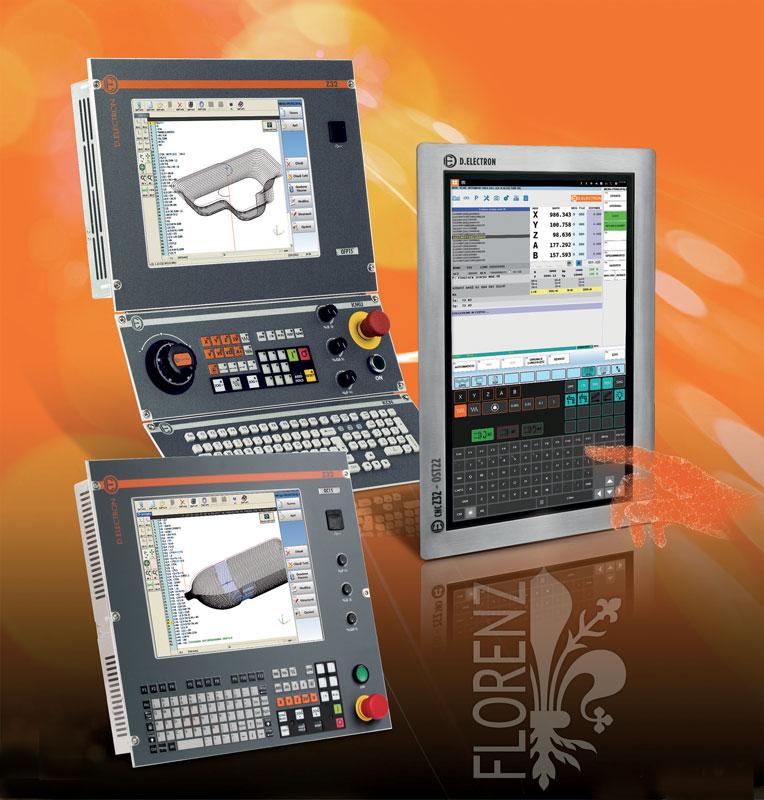 Z32 è un controllo numerico multicanale basato su PC con capacità di gestione fino a 32 assi controllati.