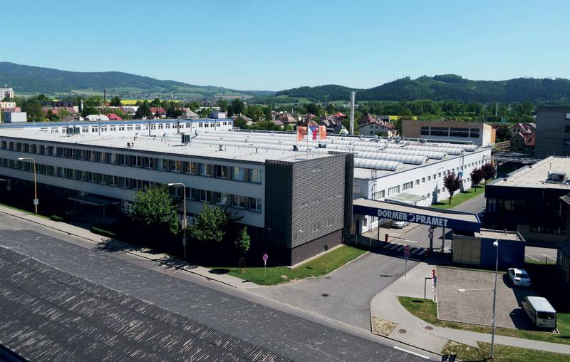 La sede di Dormer Pramet a Sumperk in Repubblica Ceca.