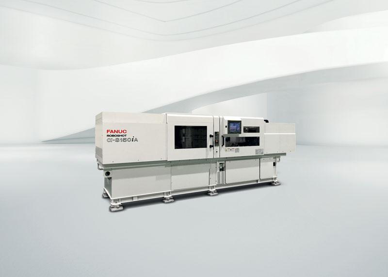 Pressa a iniezione α-S150iA nella versione per lo stampaggio plastica nel settore medicale.