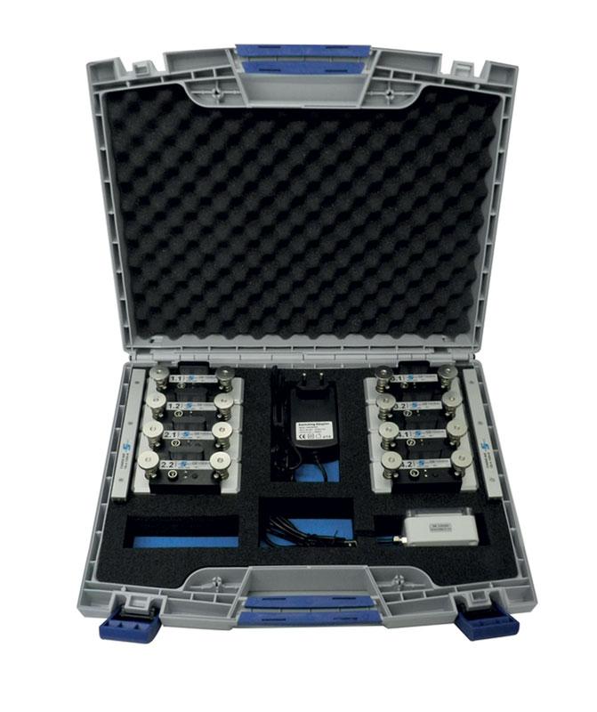 QE1008-W SET, sistema di misura colonne con trasmissione wireless.