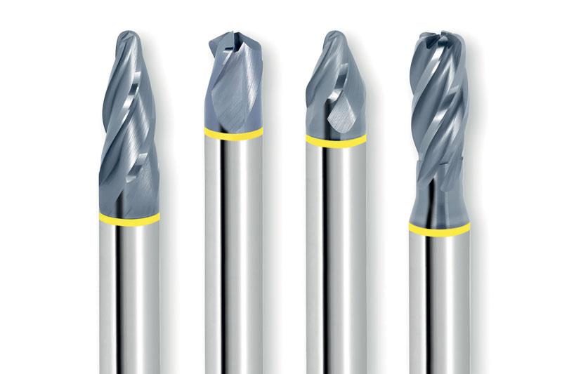 Le frese PPC sono indicate per la lavorazione sicura sia su alluminio che su materiali sintetici.