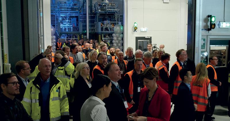 L'impianto Sandvik di polvere di titanio Osprey® e le superleghe a base di nichel è stato inaugurato a fine 2019 a Sandviken, in Svezia, con oltre 150 partecipanti alla cerimonia, tra cui utenti finali in settori chiave come quello aerospaziale e medico.