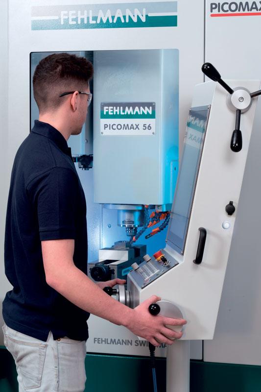 Il centro di lavoro Picomax 56 TOP permette un'elevata flessibilità d'uso.
