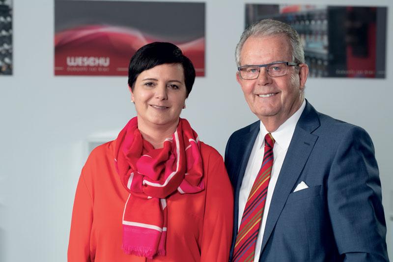 Una squadra intergenerazionale di successo: dal 2008 Kathrin Schumacher dirige l'azienda a conduzione familiare insieme al padre, Werner Schumacher.