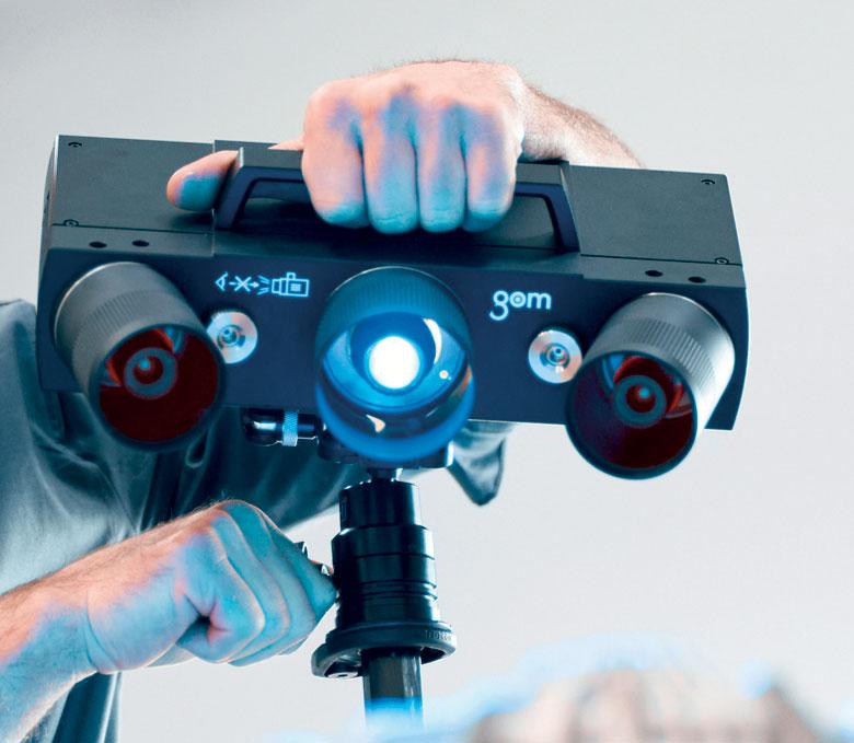 ATOS Q è disponibile in due versioni dotate di diversi livelli di risoluzione della telecamera.