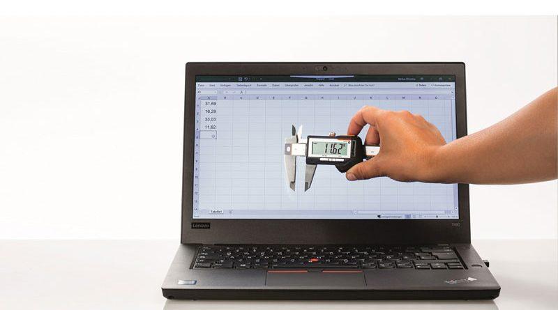 Il calibro digitale rende mobile la qualità