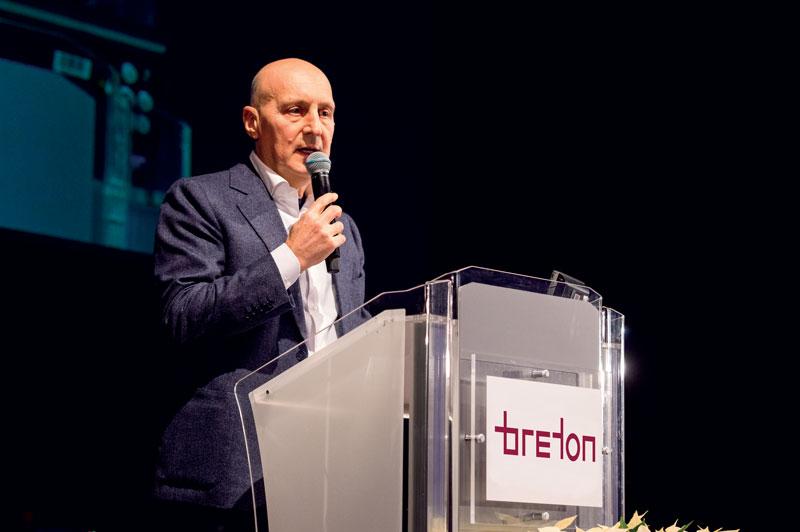 Luca Toncelli, Presidente di Breton.