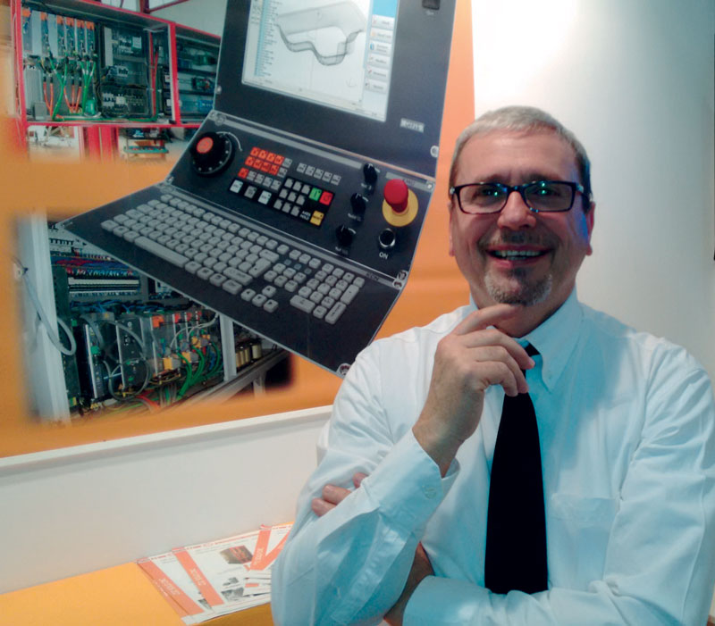 Andrea Becattini, Sales Manager D.Electron.