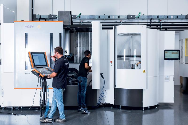 Nel Centro Tecnologico è possibile eseguire prove di lavorazione in un ambiente climatizzato.