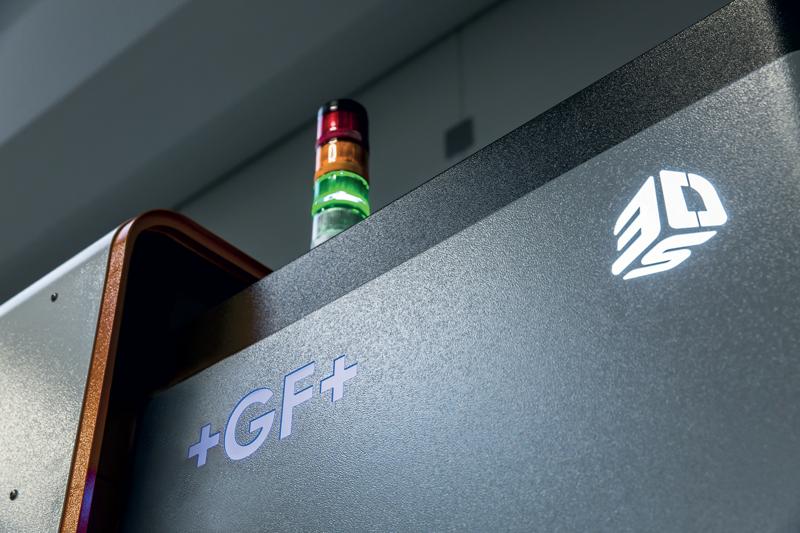 Gli impianti di Additive Manufacturing proposti da GF Machining Solutions sono sviluppati in collaborazione con la società 3D Systems.
