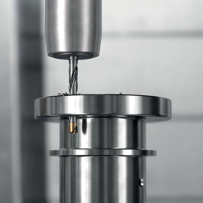 Con una raccomandazione di tre ricondizionamenti per utensile, CoroDrill 860-GM fornisce efficacemente quattro utensili in un'unica soluzione.
