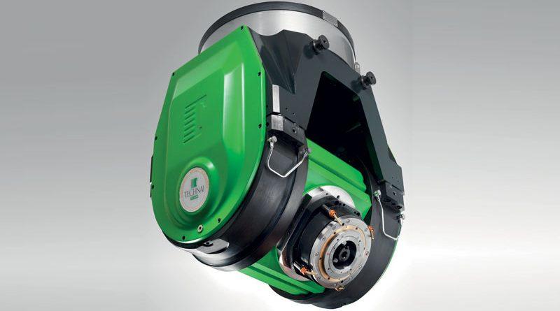 La testa ortogonale a 2 assi TCH-25 PI-GRECO di Technai Team è stata sviluppata per le grandi macchine utensili a portale e gantry.